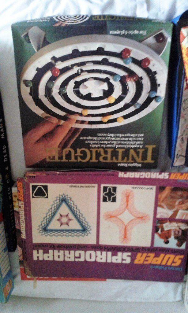 18 RETRO 1970s board games