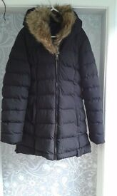 Ladies Gold Digga Padded Winter Coat Size 10