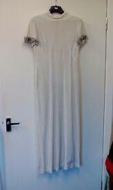 Vintage 50s style evening dress