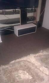 centre speaker white