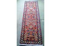 Persian Handmade Runner Rug 66cm x 193cm NEW