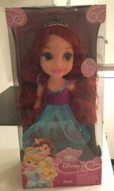 My first Disney dolls *NEW in box*Belle, Cinderella, Ariel, Jasmine, Rapunzel
