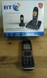 BT Nuisance 7200 -Telephone two docks