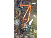 6 bike frames with parts wheels ect just £20