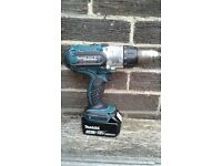 Makita 18v battery operated drill