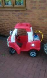 Little tikes 4*4 fire engine