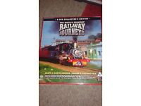 The World's Greatest Railway Journeys 8 DVDS