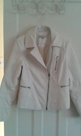 White leather jacket (M&S limited edition)