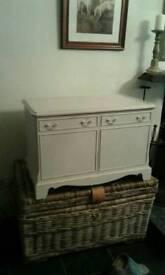Shabby chic storage cupboard