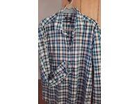 HUGO BOSS - large checked shirt - summer weight