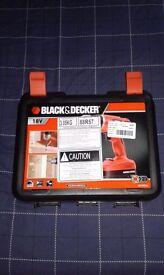 Black and Decker 18V power drill