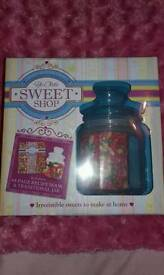 Sweet Recipe Book and Jar