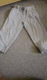 Grey joggers 18-24 months