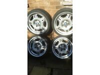 bmw 17 inch alloys and tyers