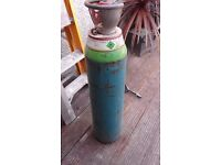 spare empty argon gas bottle size y