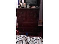Bedroom Cabinet used brown