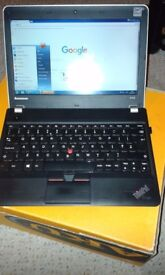 LAPTOP 11 inch lenovo thinkpad 6 - 7 hour battery life supreme condition original charger BROCKLEY