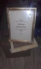 Antique Style Gold Coloured Picture Frame