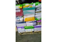 A4 PAPER BRANDED PACKS OF 5 PALLETS OF 50 80GSM
