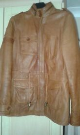 Ladies Leather Jacket size 14-16