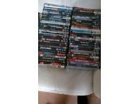 57x DVDs and 2 box sets
