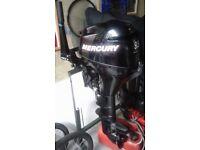 9.9hp Mercury 4 stroke longshaft outboard engine