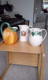 China milk or juice jugs