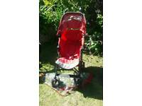 MACLAREN XT RED BUGGY SOUTHEND OR LAINDON