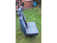 two seats to van Fiat Ducato with own seat belts 50£