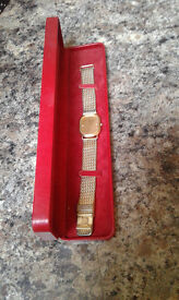 Omega deville mens watch,excellent condition;as good as the day I bought it.Reluctant seller.