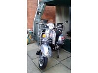 FOR SALE A GREAT RELIABLE VESPA 125