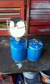 Gaz lantern with partial gaz.