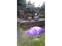 Hippo sandpit for sale