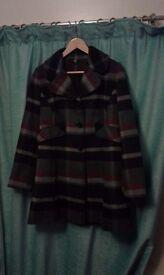 Ladies Three Quarter Coat - M&S - Size 12