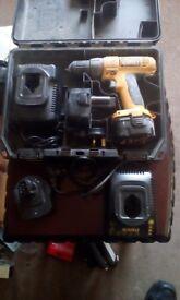 dewalt 12v rechargeable drill