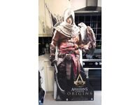 Assassins creed origins promotional stand 6ft tall
