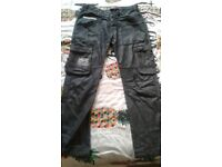 Crosshatch black jeans size 30w S