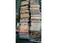 Joblot of 100 dvds. Various