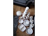 39 piece dinner service by coloroll England.