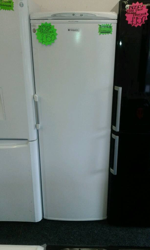 HOTPOINT WHITE FROST FREE UPRIGHT FREEZER
