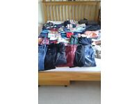 Bunch of boys clothes
