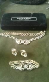 Jewellery set, Pierre Cardin