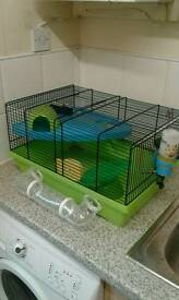 Hamster cage, luxury model, large, twin level