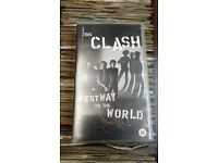 VHS Video The Clash - Westway to the World, released in 1999.
