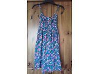 Summer floral dress size 14