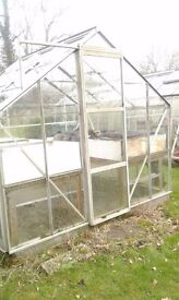 Greenhouse 6ft x 8ft.