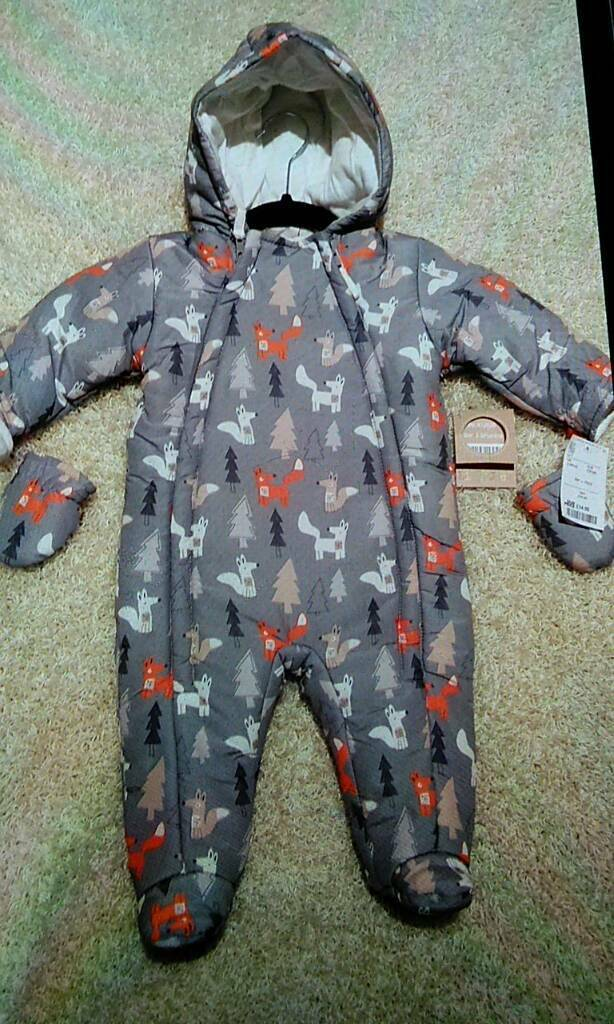 Baby Pramsuit snowsuit