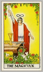 "Tarot reading vouchers ""Sarah Marly, spiritual Healer and Adviser"""