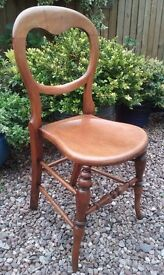 Victorian Country Farmhouse Occasional Dining Kitchen Chair