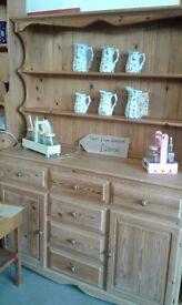 Stunning solid pine dresser £210.00